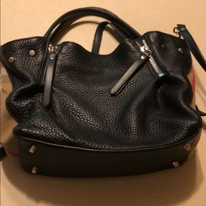 Burberry small Maidstone Black leather handbags